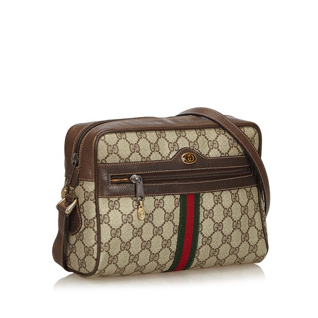 3948dae428ca Ophidia GG Supreme Small Crossbody Bag by GUCCI | StyleTribute.com