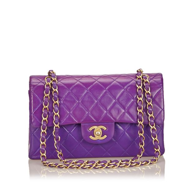 3bc29fb90baa Chanel Matelasse Double Flap Chain Shoulder Bag by CHANEL ...