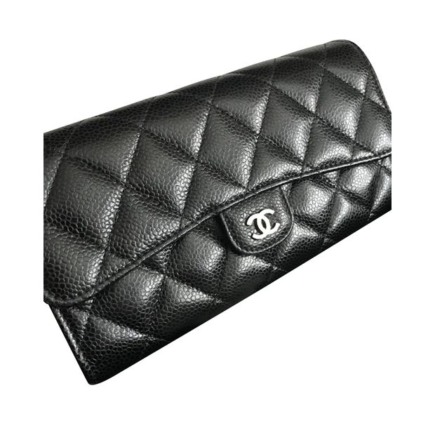 96d82c64fcf174 Classic Flap Caviar Leather by CHANEL | StyleTribute.com