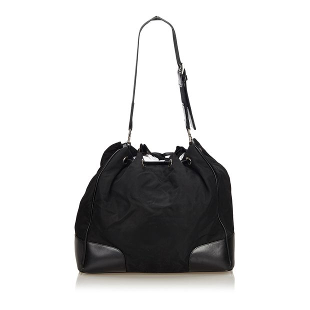 a641f4f2da PRADA Nylon Drawstring Shoulder Bag 2 thumbnail