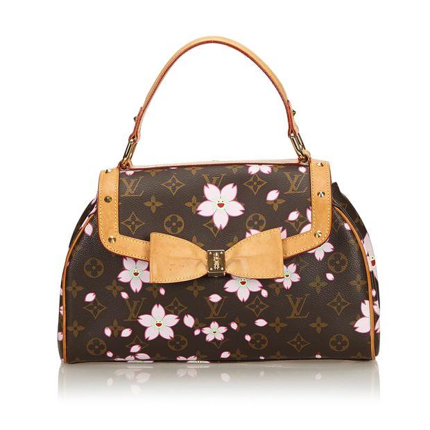 106a245b1d06 Monogram Murakami Cherry Blossom Sac Retro Bag by LOUIS VUITTON ...
