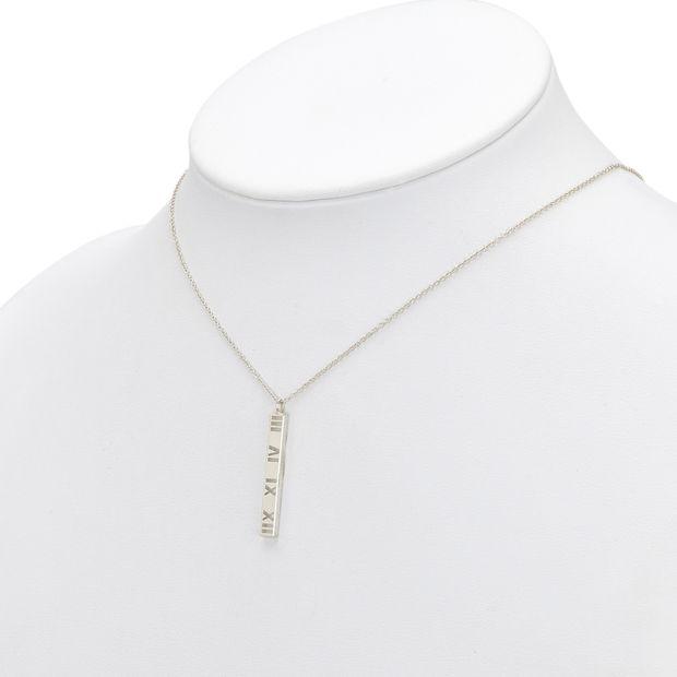 c339df2f8 Atlas Bar Pendant Necklace by TIFFANY & CO | StyleTribute.com