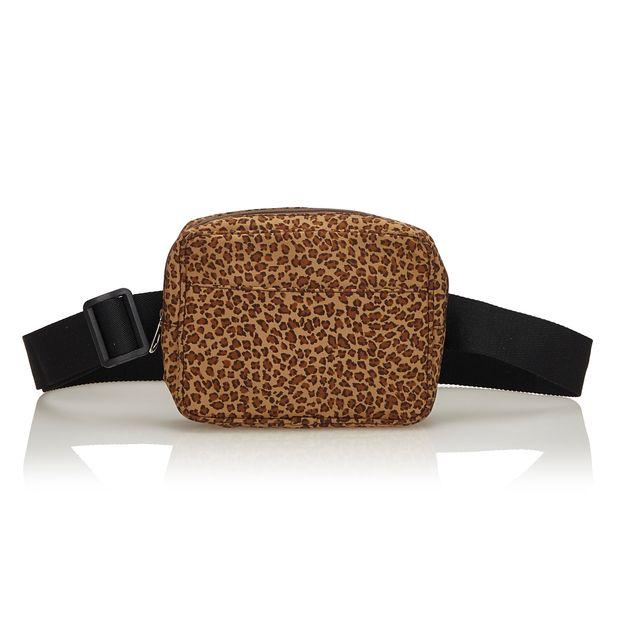 26b62c6c59a6 Leopard Nylon Belt Bag by BOTTEGA VENETA | StyleTribute.com