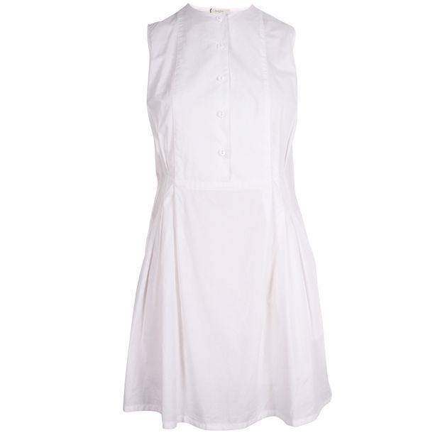 59f160d3 White Sleeveless Shirt by PAUL SMITH   StyleTribute.com