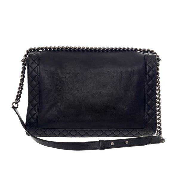 937f2effb96f Black Reverso Boy Bag Large by CHANEL | StyleTribute.com