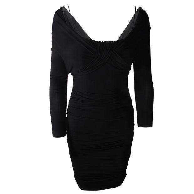 8cde0c21594 PRADA Black Tube Dress 0 thumbnail