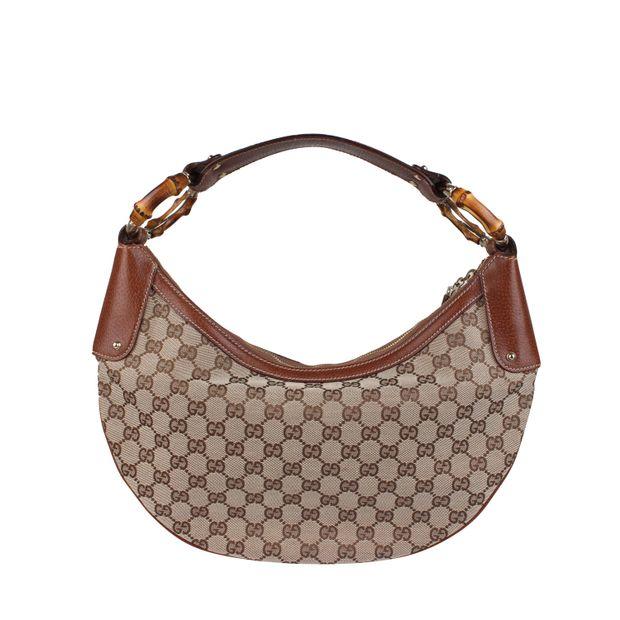 e7d618a777 Gucci Borsa Bambo Hobo Bag by GUCCI | StyleTribute.com