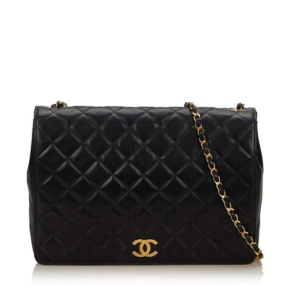 2f94ccf2fc05 Lambskin Leather Flap Bag by CHANEL | StyleTribute.com