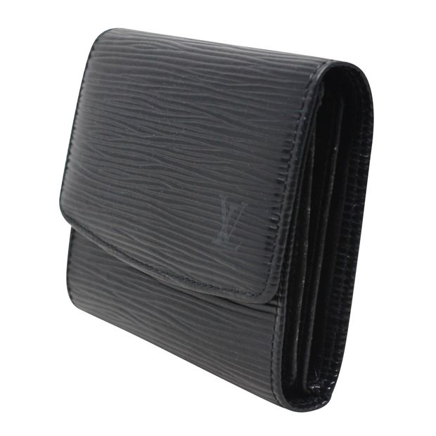 2caeae8a16a856 Epi-Leather Card Holder by LOUIS VUITTON   StyleTribute.com