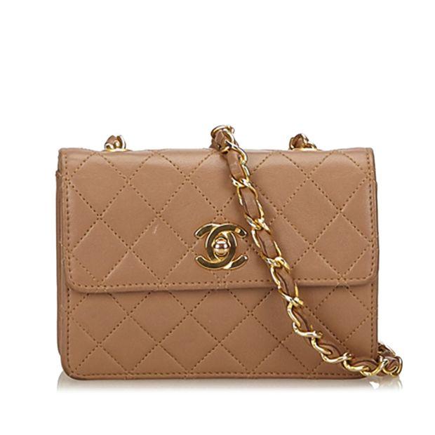 75969b5c0d76 Matelasse Leather Chain Flap Shoulder Bag by CHANEL | StyleTribute.com