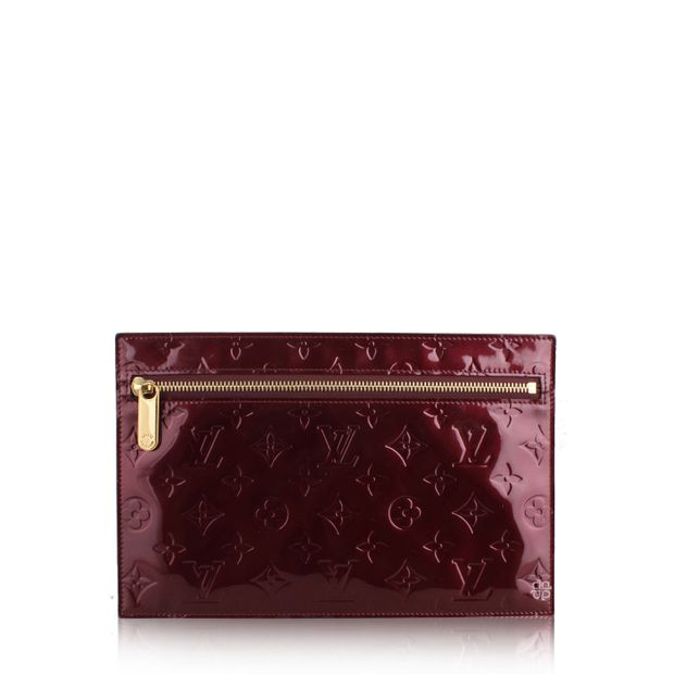 95051937b0f0 LOUIS VUITTON Monogram Vernis Pershing GM Clutch 0 thumbnail