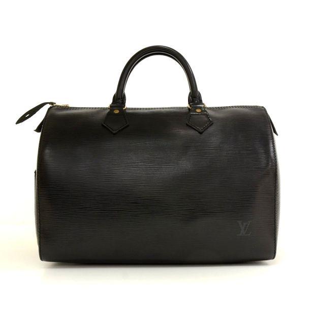 3d43c1600436 Black Epi Leather City Hand Bag by LOUIS VUITTON