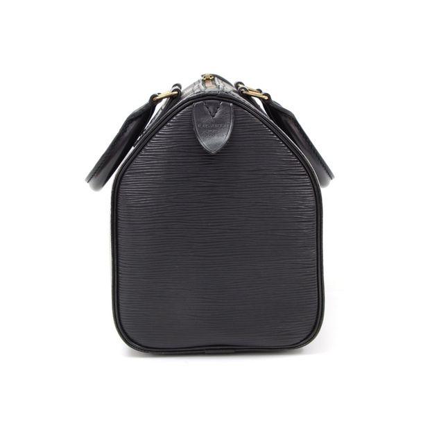 7704e621dc51 LOUIS VUITTON Speedy 30 Black Epi Leather City Hand Bag 4 thumbnail