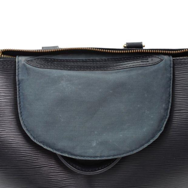 c0a2d4dbc1f2 LOUIS VUITTON Speedy 30 Black Epi Leather City Hand Bag 12 thumbnail