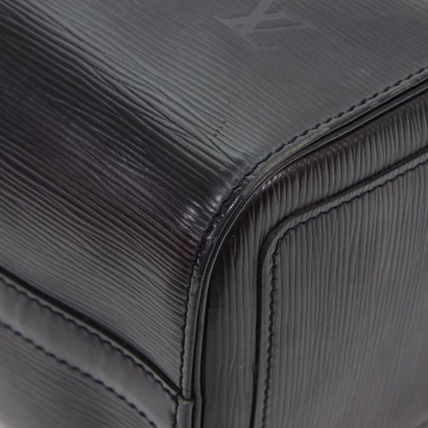 c4a1387c5a90 LOUIS VUITTON Speedy 30 Black Epi Leather City Hand Bag 11 thumbnail