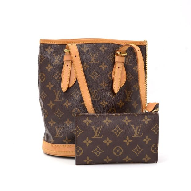 1986c9d12e Bucket PM Monogram Canvas Shoulder Bag by LOUIS VUITTON ...