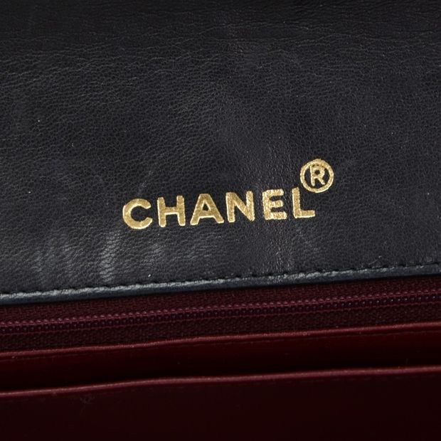 e67fa63198595b CHANEL Vintage 10 Diana Classic Black Quilted Leather Shoulder Flap Bag 10  thumbnail