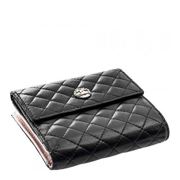73a1345effd1 Quilted Mini Flap Wallet by CHANEL | StyleTribute.com