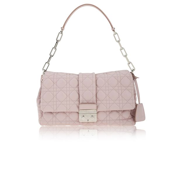 fbb11fa1b899 Dusty Pink Quilted Leather New Lock Flap Shoulder Bag by DIOR ...
