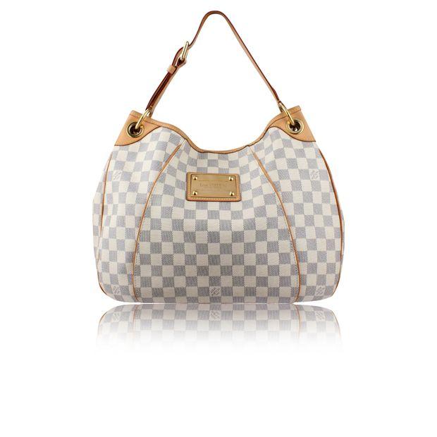 3eeaa2791 Damier Azur Canvas Galliera PM Bag by LOUIS VUITTON | StyleTribute.com