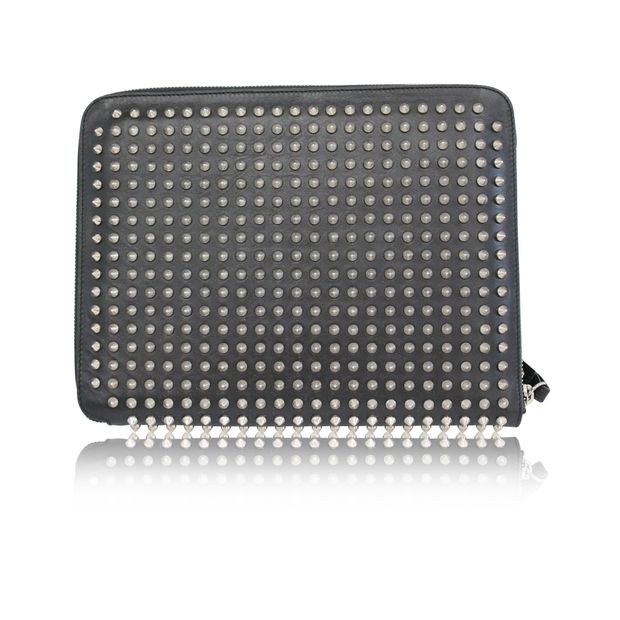grossiste 3b944 2c492 Cris Case Paris Spikes in Black And Silver