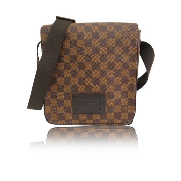 a722d0fef98f Damier Ebene Canvas Naviglio Messenger Bag by LOUIS VUITTON ...