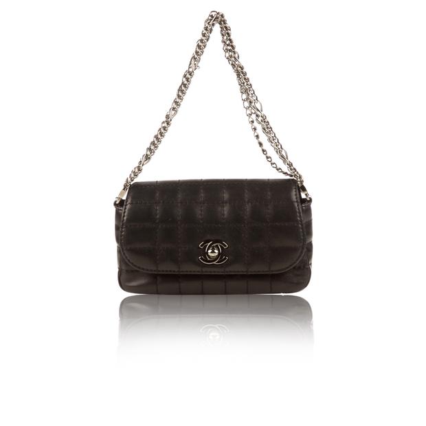 e8c8cefc6f42 Black Lambskin Mini Bijoux Chain Bag by CHANEL