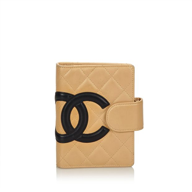 1de62531f1c2 Cambon Ligne Quilted Lambskin Leather Notebook by CHANEL ...