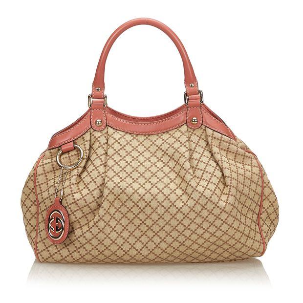 5156979ede5 Diamante Sukey Tote Bag by GUCCI