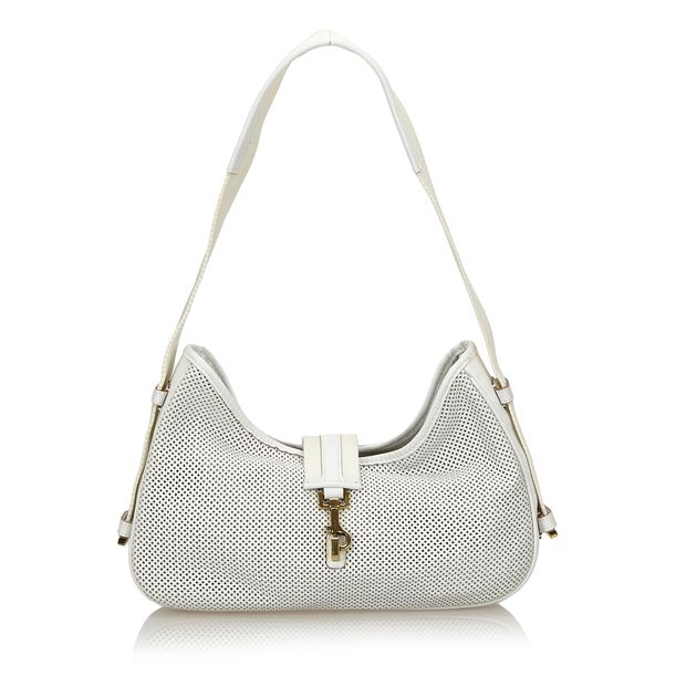 0774d0bdf Perforated Jackie Shoulder Bag by GUCCI   StyleTribute.com