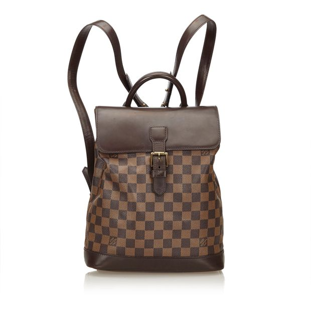 dcf0991226ba Damier Ebene Soho Backpack by LOUIS VUITTON