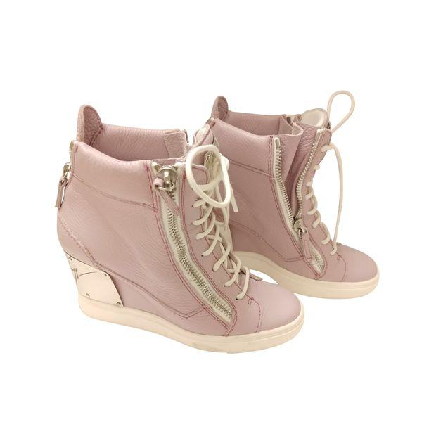 b433b57f595b3 Pastel Pink Heels Speakers by GIUSEPPE ZANOTTI   StyleTribute.com