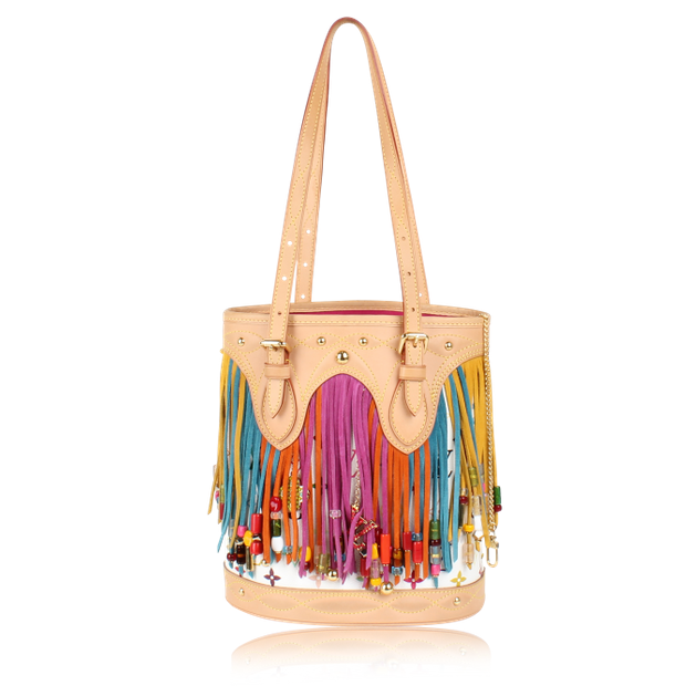 5f57e8a31d1 Fringe Bucket Bag Limited Edition by LOUIS VUITTON | StyleTribute.com