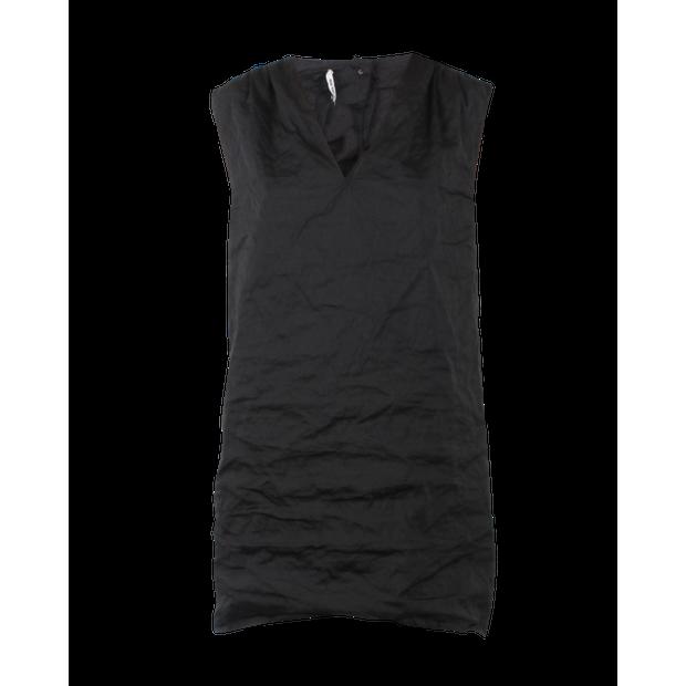 5722befaa0f20 Black Mini Dress by MIU MIU