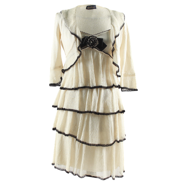 be3c82e5fd9 LUISA SPAGNOLI Dress & Vest Set LUISA SPAGNOLI Dress & Vest Set zoomed
