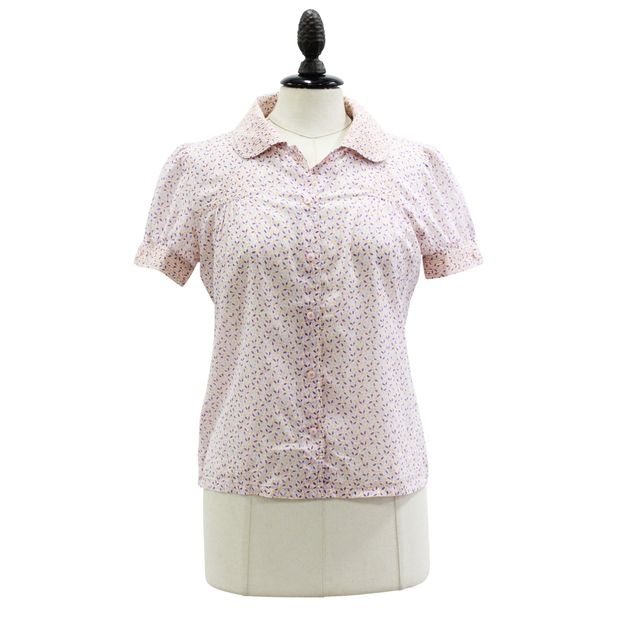 d40ac1a46e63bc Printed Cotton Blouse by MARC BY MARC JACOBS | StyleTribute.com