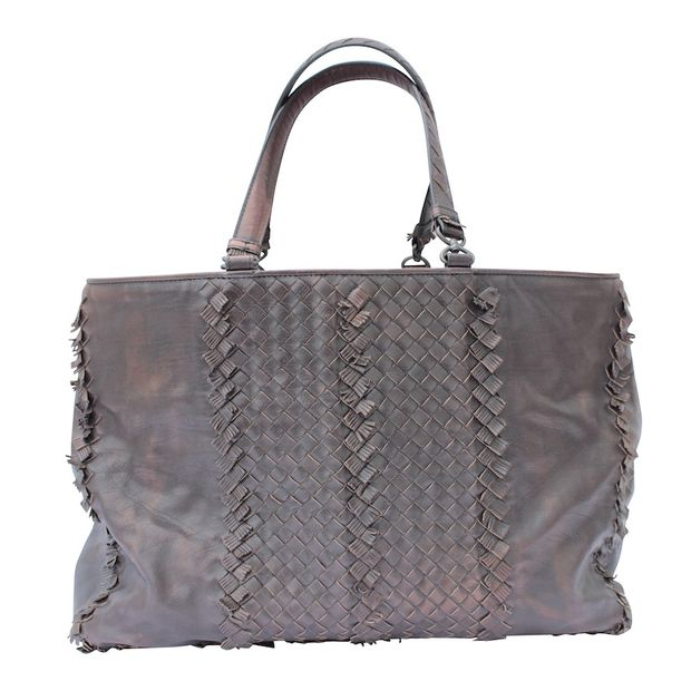 0c1e5912ba9d A Intrecciato Leather Cabat by BOTTEGA VENETA
