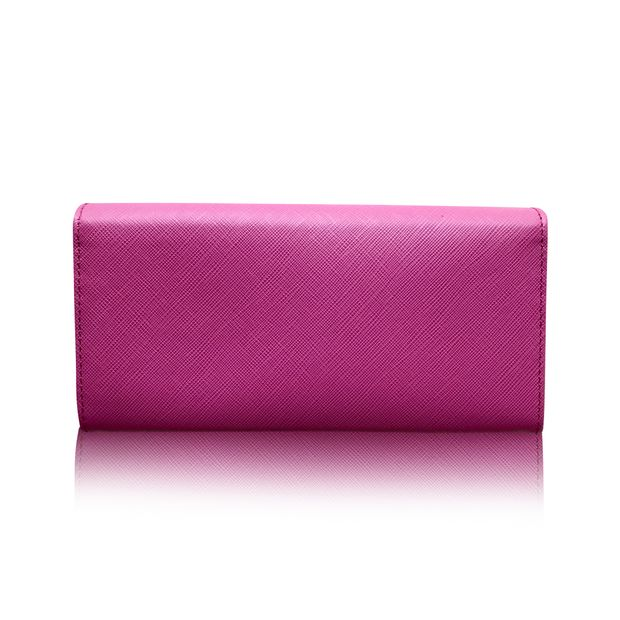 new product 1b9d8 4879f Double Gancio Pink Wallet