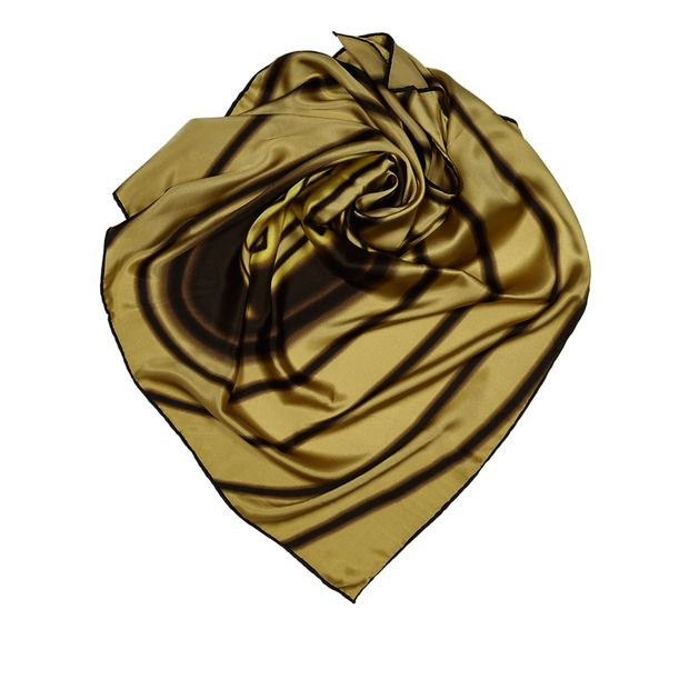 5fadb6166ea5 Logo Silk Scarf by FENDI