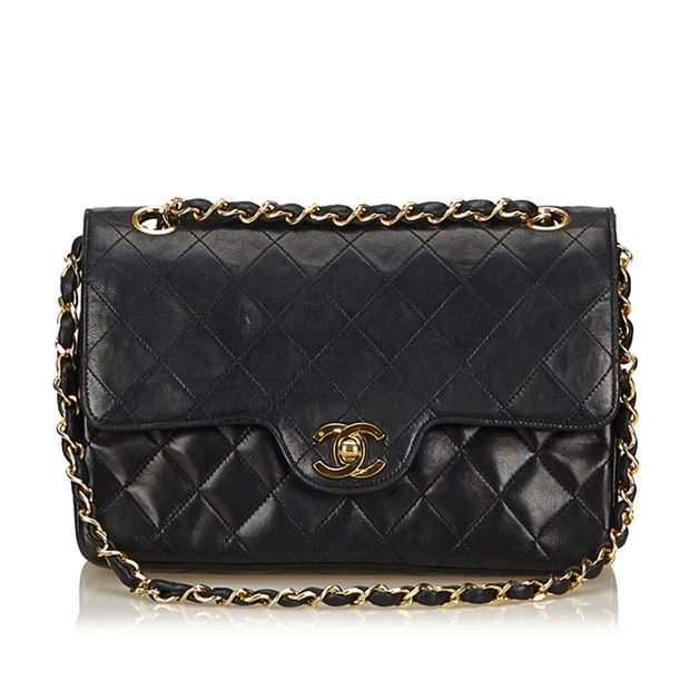 52b62fed870060 Matelasse Lambskin Leather Flap Bag by CHANEL | StyleTribute.com