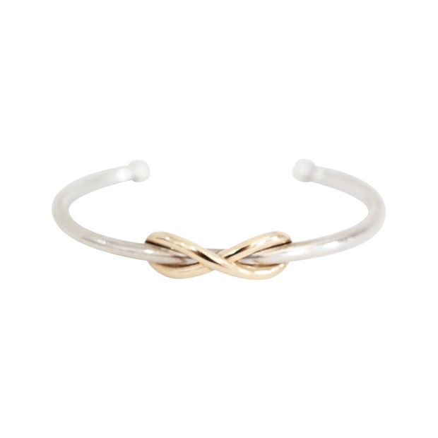 5bf8c2d09 Infinity Cuff In Small Size by TIFFANY & CO | StyleTribute.com