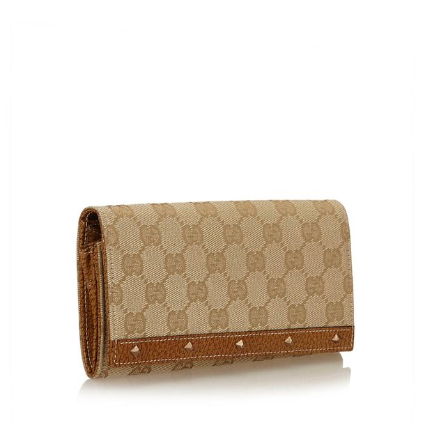 afe8ce20fcd857 Guccissima Long Wallet by GUCCI | StyleTribute.com
