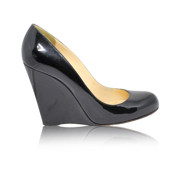 official photos 8f873 ab8ba Black Patent Wedges