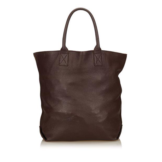 28d21a86bb Leather Tote Bag by BOTTEGA VENETA