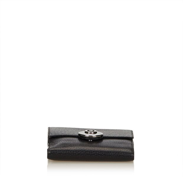 8f2eedd030e GUCCI Leather Small Wallet 3 thumbnail