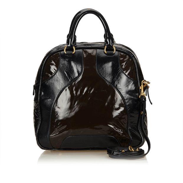 Patent Leather Handbag by MIU MIU  1de5d17d23090