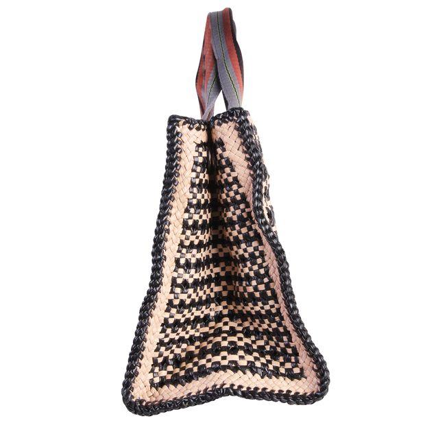 a769d7daab13 Raffia Shopper Bag by PRADA | StyleTribute.com