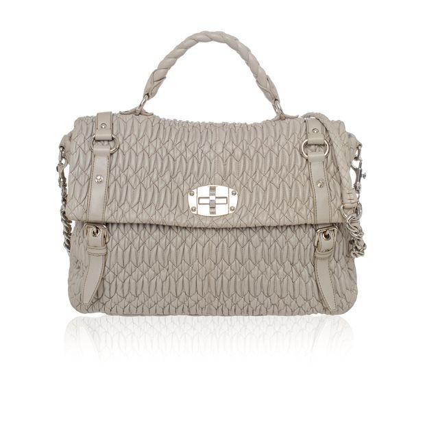 d07c08ba5b69 MIU MIU Cloquet Nappa Leather Satchel Bag 0 thumbnail