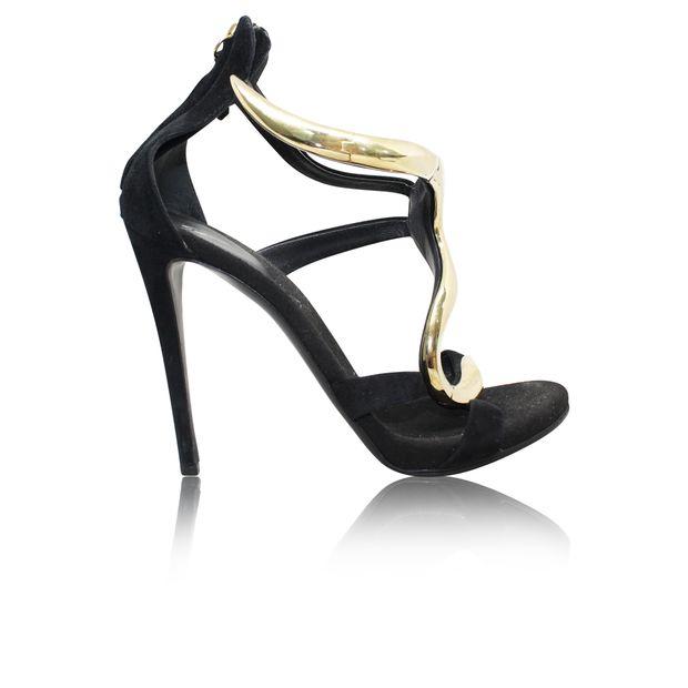 b5a8ccedd4808 Suede Heels by GIUSEPPE ZANOTTI | StyleTribute.com