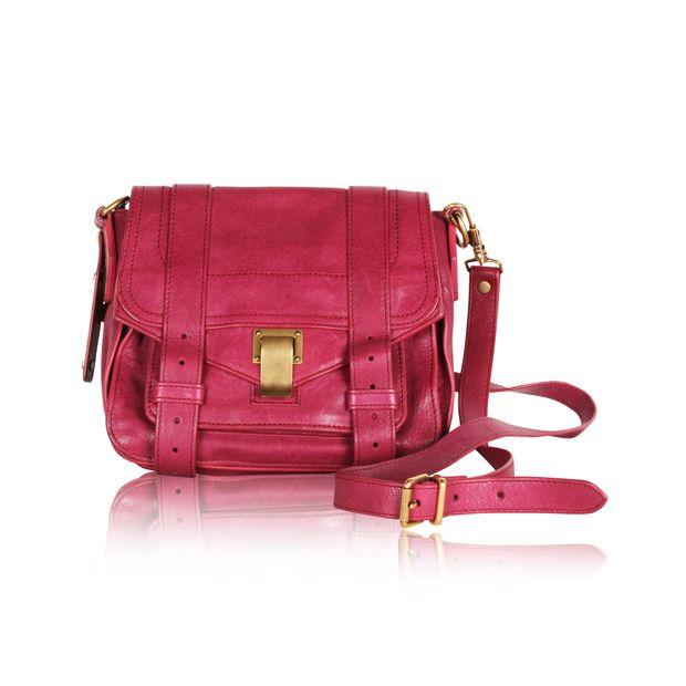 bef72099a08 Raspberry Leather PS1+ Mini Crossbody Bag